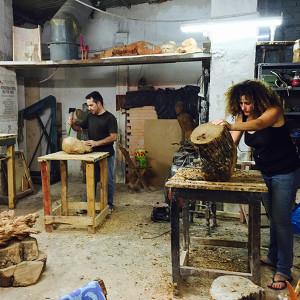 Talla en madera 2018 Iniciación- Profesional Cabo de Gata (Almería)