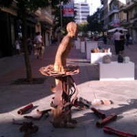 Exposición en c/ Asunción