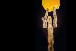 El comienzo de una escultura