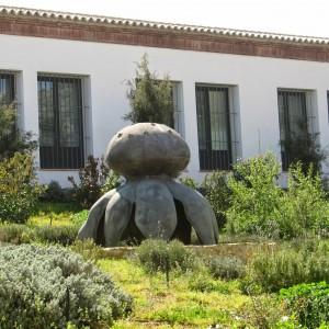 Escultura Myriostoma Coliforme «Seta Salero»