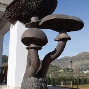 "Escultura ""Armillarea Mellea"" – Seta del Membrillo"