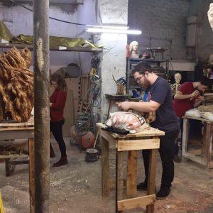 Curso Talla en madera, Iniciación – Profesional 2019 Sevilla