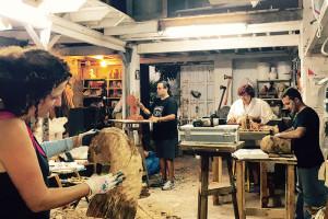 Curso Talla en madera, Iniciación – Profesional 2018 Sevilla