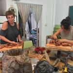 Los cursos de escultura  en La Isleta seguimos con buenos resultados