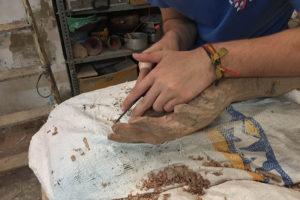 Cursos de Escultura en Sevilla Verano 2018, Piedra, Madera, Moldes, Modelado, Poliespan