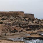 Subasta de Lonas con Obra de Artistas Castillo del Playazo en Rodalquilar