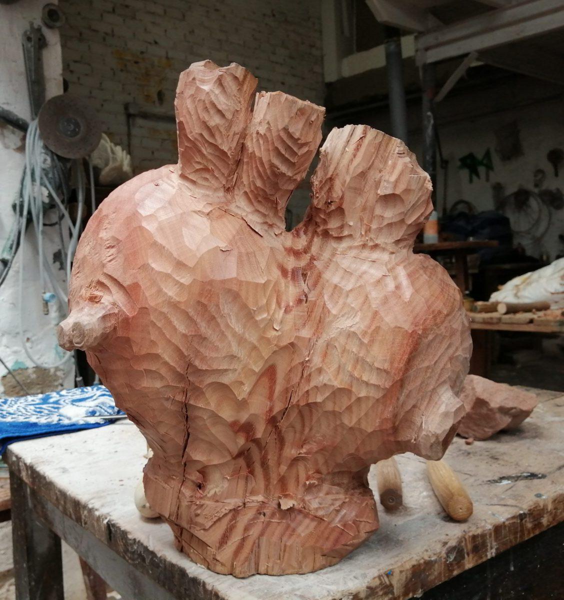 Ya queda menos para poder tallar, modelar, hacer escultura