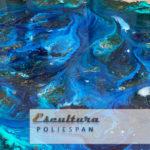 Curso resinas epoxi, colores , transparencia sobre distintos materiales